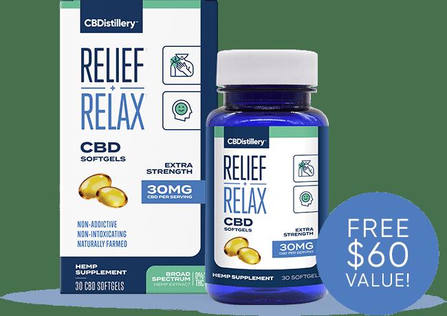 Free 30 Day Supply of CBD Softgels