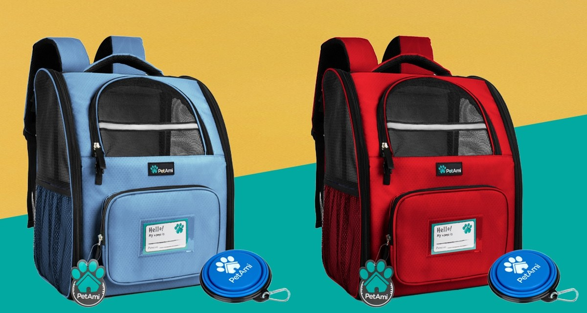 PetAmi Backpack Giveaway