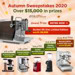 iDrinkCoffee Autumn Sweepstakes 2020