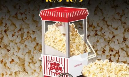 Nostalgia Hot Air Popcorn Maker Giveaway