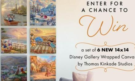 Thomas Kinkade Studios Disney Artwork Giveaway