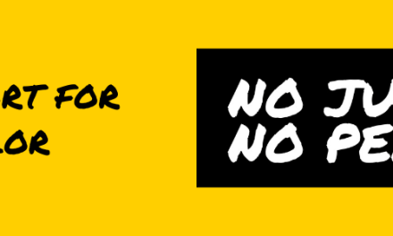 Free No Justice No Peace Sticker