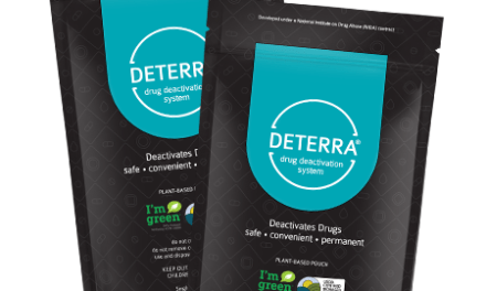 Free Deterra Drug Deactivation and Disposal Pouches