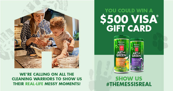 The Mess is Real Sweepstakes