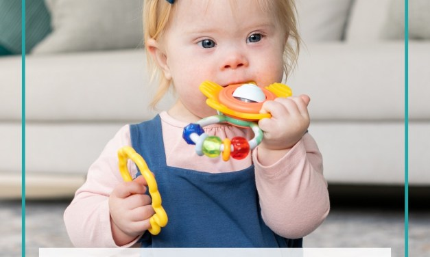 Free Infantino Crystal Clear Play and Teethe Mitten product