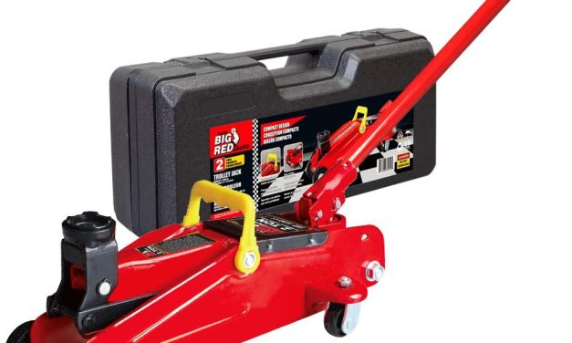 Free Big Red 2 Ton Trolley Jack After Rebate