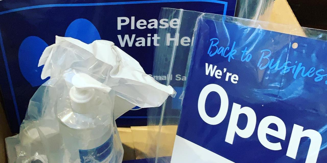 Free Hand Cleaner, Stickers & Signs from AmEx