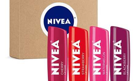 Free 4-Pack of Nivea Tinted Lip Balm