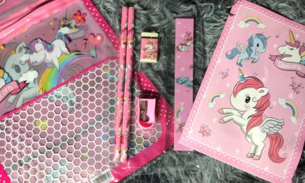 Free Unicorn Stationery Kit