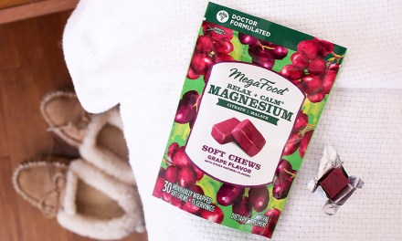 Free MegaFood Relax + Calm Magnesium Soft Chews