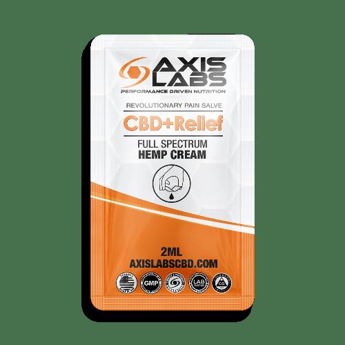 FREE Axis Labs CBD + Relief Hemp Cream Sample