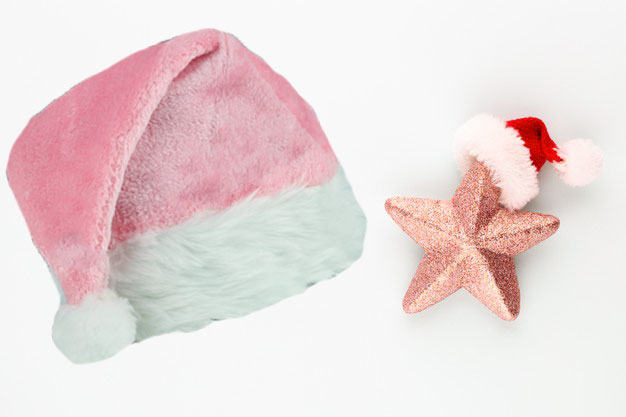 Free Pink Santa Hat