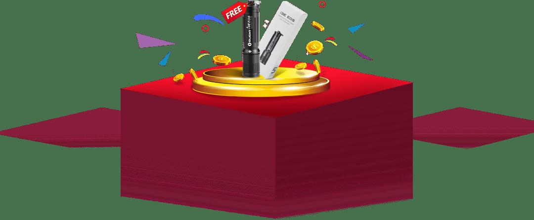 free-olight-i3e-eos-keychain-light-sample