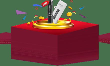 Free Olight i3E EOS Keychain Light Sample