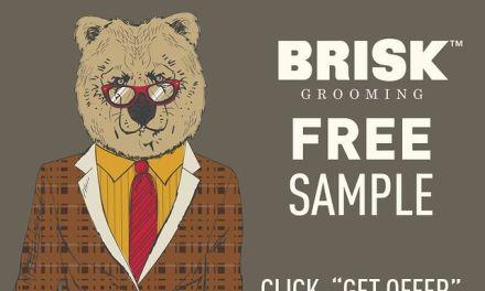 Free Brisk Grooming Beard Product Samples