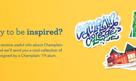 Free Champlain College Sticker Pack