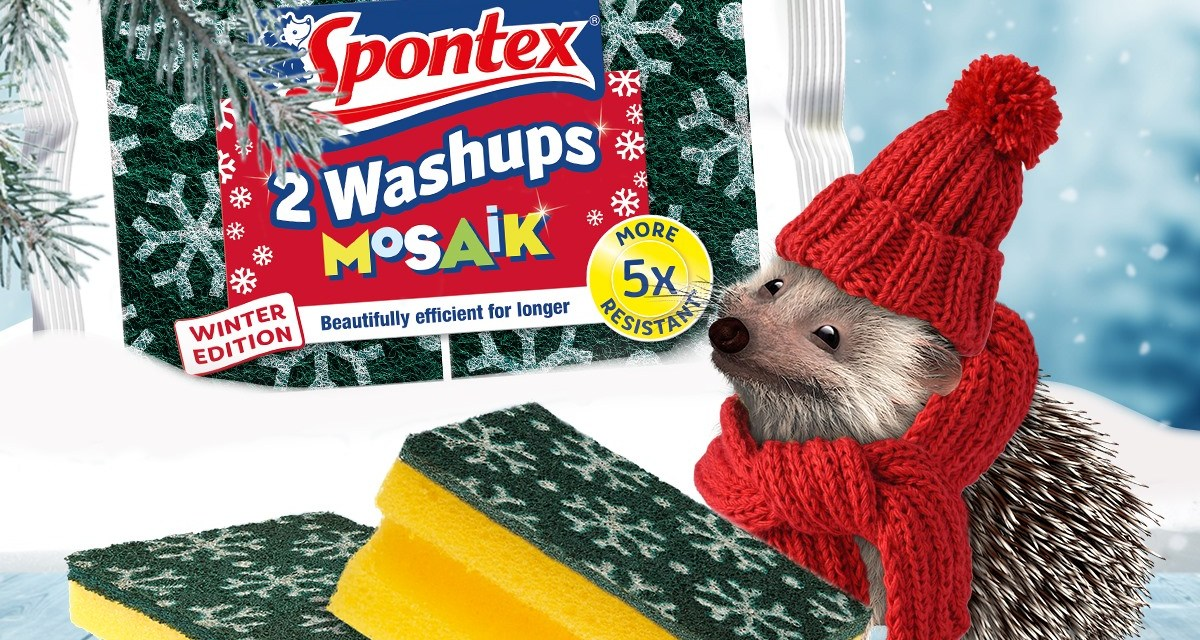 Free Spontex Microfibre Kitchen Cloths