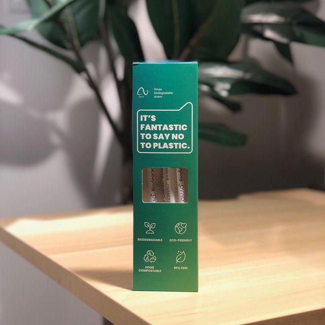 Free Biodegradable Straw Sample