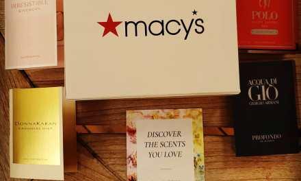 FREE Macy's Fragrance Sample Box