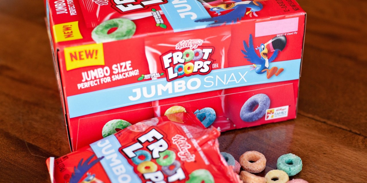 FREE Box of Kellogg's Jumbo Snax