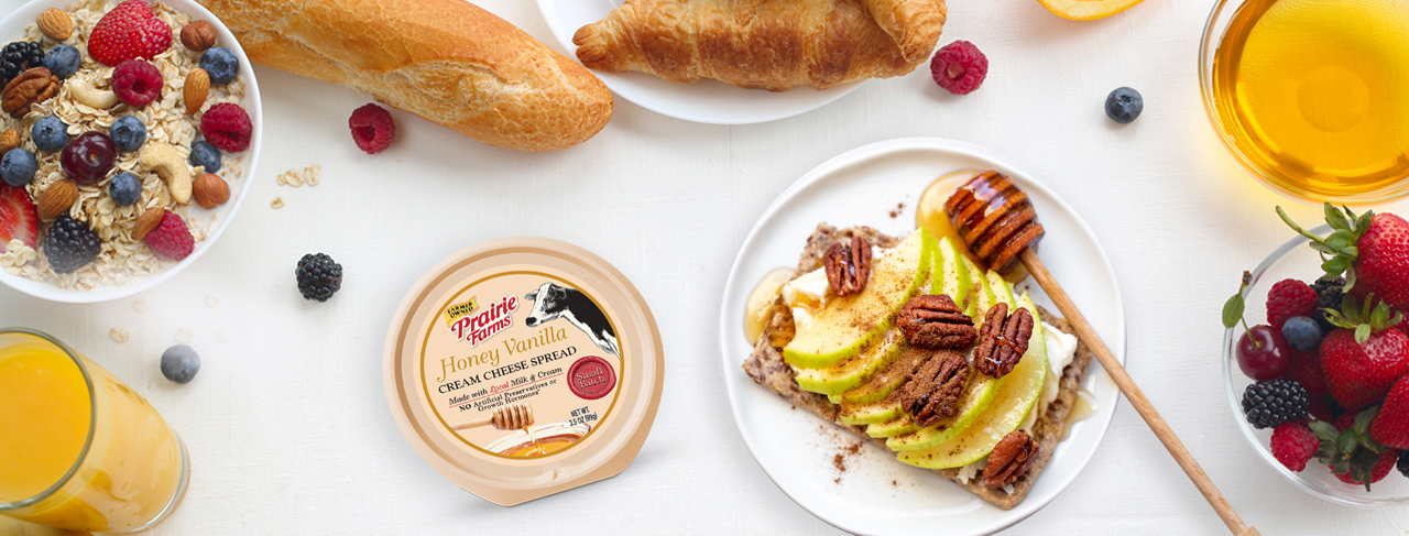 Free Prairie Farms Cheese Spread