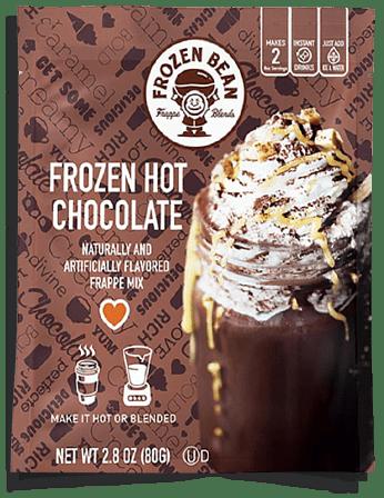 Free Frozen Bean Frozen Hot Chocolate