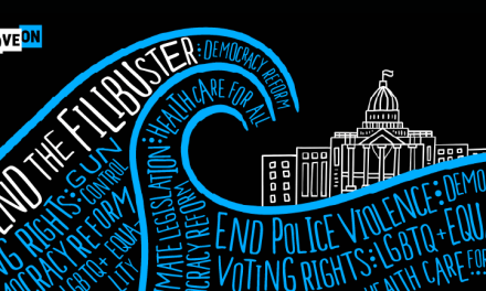 """Free """"End the Filibuster"""" Sticker"""