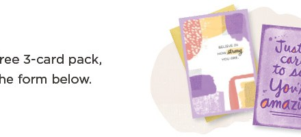 FREE 3 Pack of Hallmark Greeting Cards