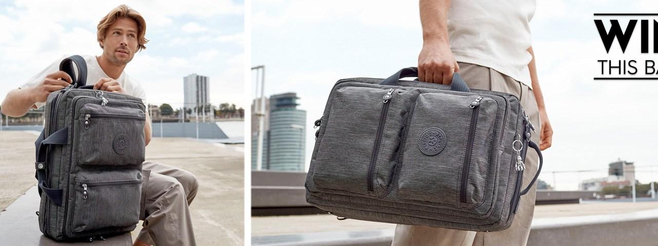 Win a FREE Kipling Suitcase Bag
