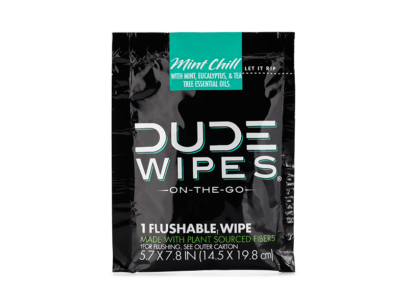 FREE DUDE WIPES MINT CHILL