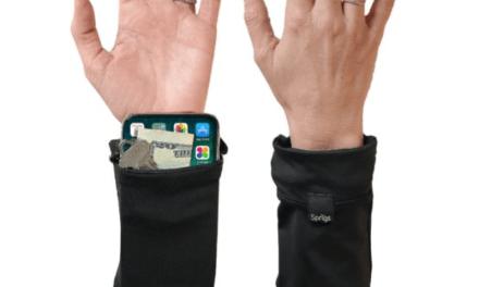 Free Sprigs 2 Pocket Banjees Wrist Wallet