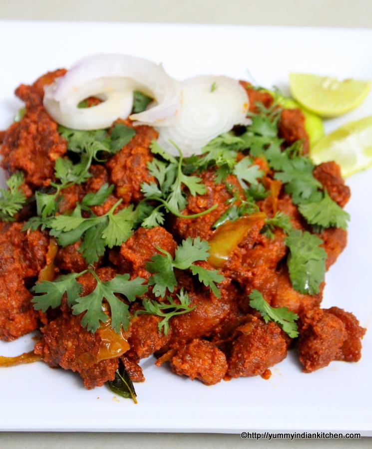 Chicken 65 Recipe Hyderabadi Gravy and Dry Restaurant ...