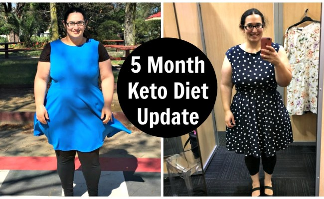 5 Month Ketogenic Diet Results Update Before After