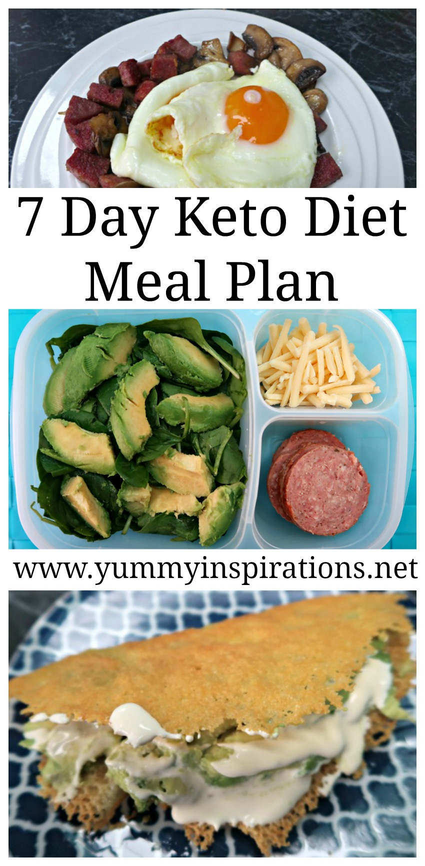 7 Day Keto Diet Meal Plan For Weight Loss - Low Carb Ketogenic Foods And  Sample