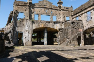 Barracks ruins on Corregidor Island