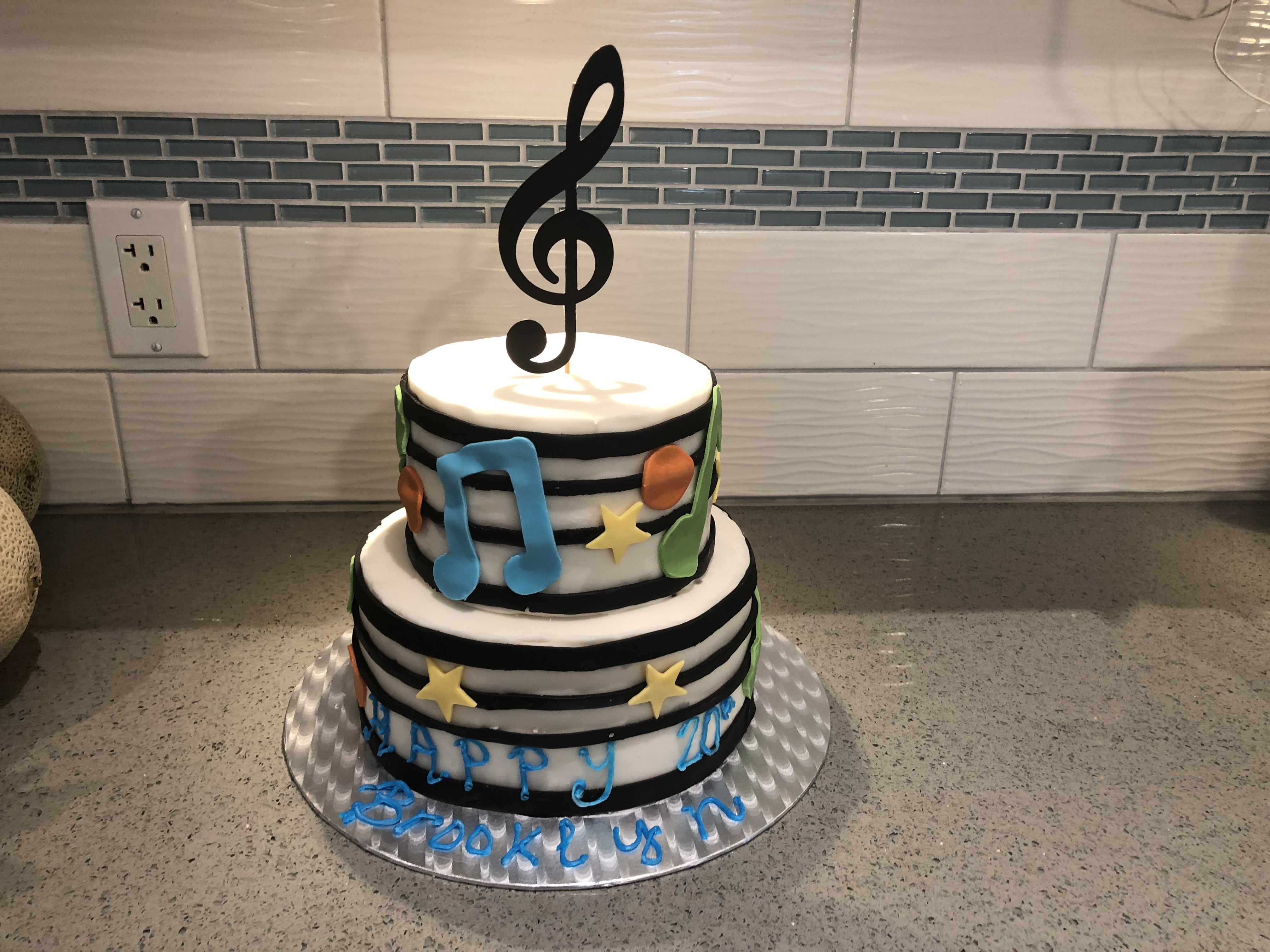 Music Cake