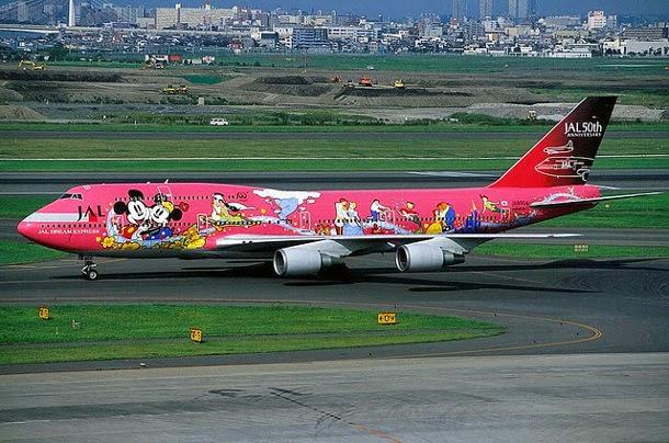 JAL Disney