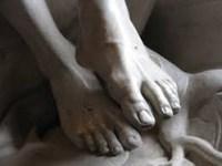 Christ's feet