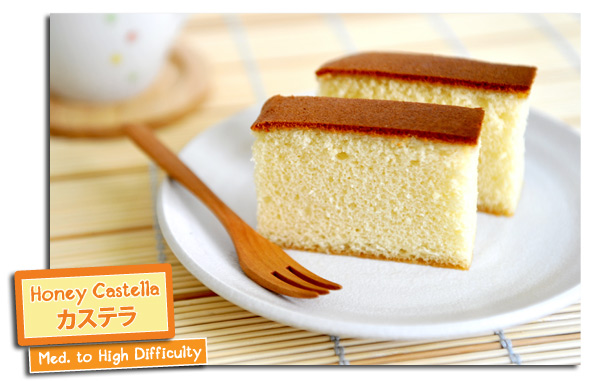 Honey Castella