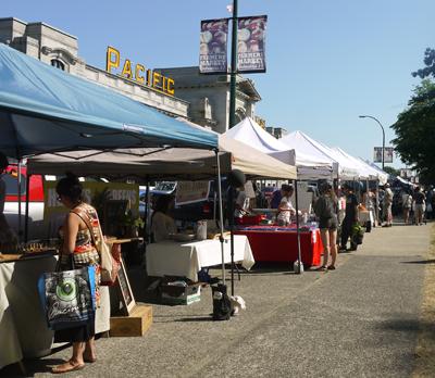 Vancouver Farmer's Market, Main Street