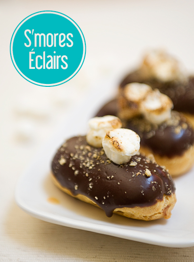 S'mores Éclairs - The S'mores Cookbook