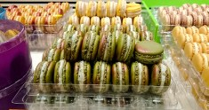 Pierre Herme has some of the best looking and tasting macarons in Paris.
