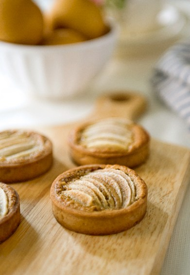 Browned Butter Pear Tart