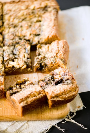 Sesame Caramel Kinako Butterscotch Bars