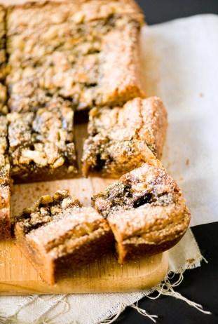Sesame Caramel Kinako Butterscotch Bars
