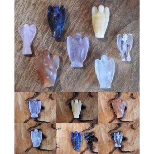 Yummy Mummy Emporium and Apothecary - Bringing the Wisdom of Mother Nature to Life - Gemstone Guardian Pocket Angels