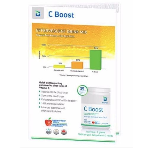 YumNaturals Emporium - Bringing the Wisdom of Mother Nature to Life - C Boost Drink Mix 227 gm_2