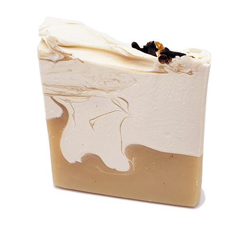 YumNaturals Emporium - Bringing the Wisdom of Mother Nature to Life - Orange Clove Artisan Soap 1
