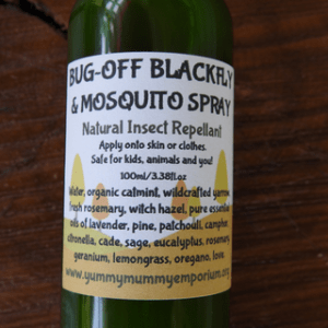 YumNaturals Emporium and Apothecary - Bringing the Wisdom of Mother Nature to Life - Bug Off Black Fly & Mosquito Spray