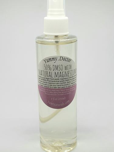 YumNaturals Emporium - Bringing the Wisdom of Nature to Life - 50 DMSO with Magnesium